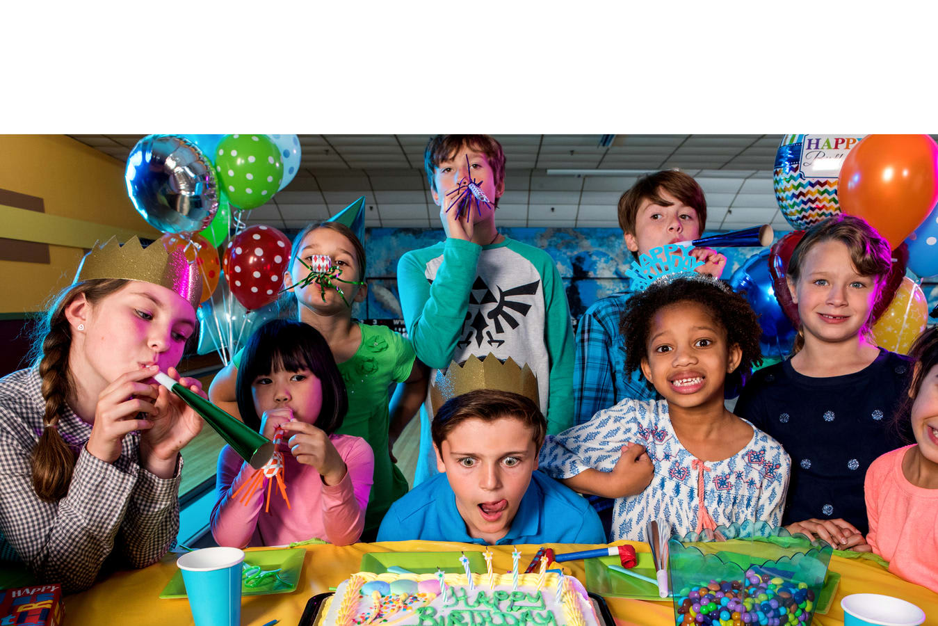 Have Your Next Birthday Party With Us
